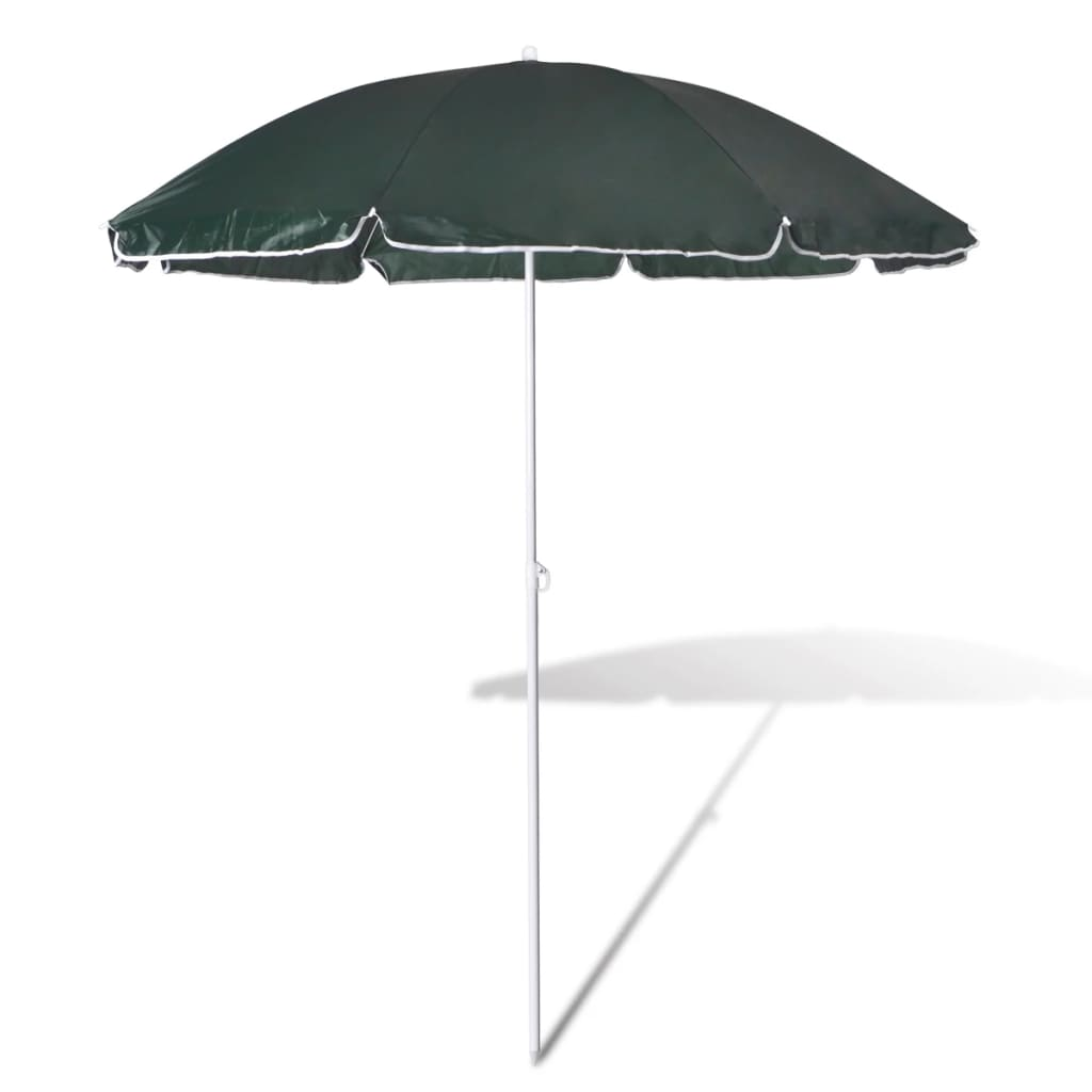 la boutique en ligne 180cm parasol de plage vert. Black Bedroom Furniture Sets. Home Design Ideas