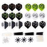 XQmax Darts MvG Kit Accessori 84 Pz. QD7000200