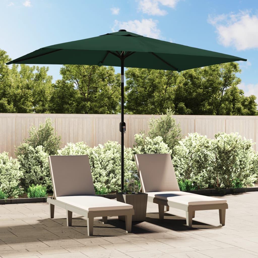 acheter vidaxl parasol 200 x 300 cm vert rectangulaire pas. Black Bedroom Furniture Sets. Home Design Ideas