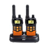 Alecto Walkie-talkie-set FR-70 Svart och Orange