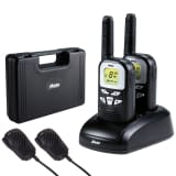 Alecto Walkie-Talkie Twin Set FR-76 mit Koffer Schwarz