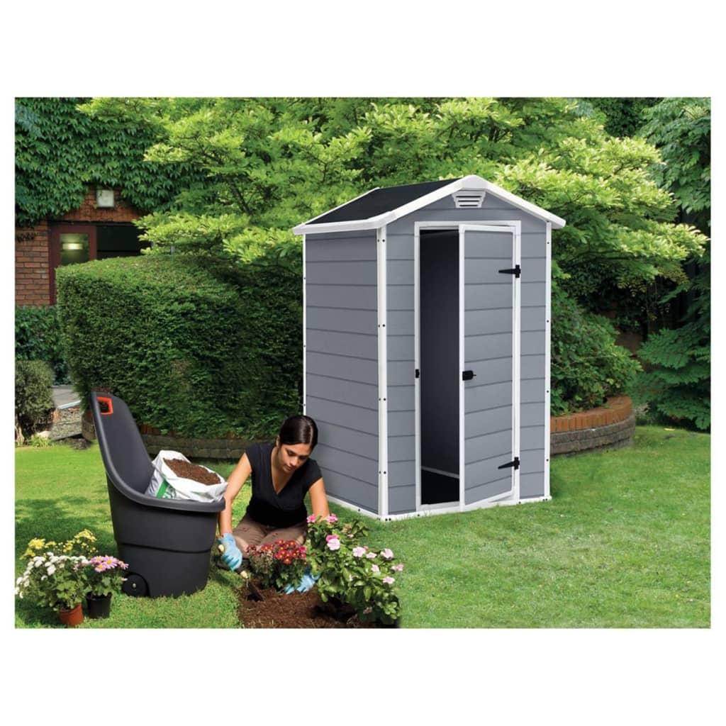 la boutique en ligne keter abri de stockage manor 43 gris. Black Bedroom Furniture Sets. Home Design Ideas