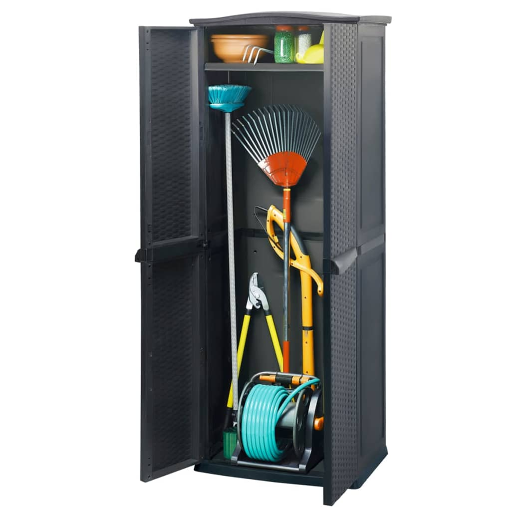 acheter keter armoire de rangement pour patio rotin. Black Bedroom Furniture Sets. Home Design Ideas