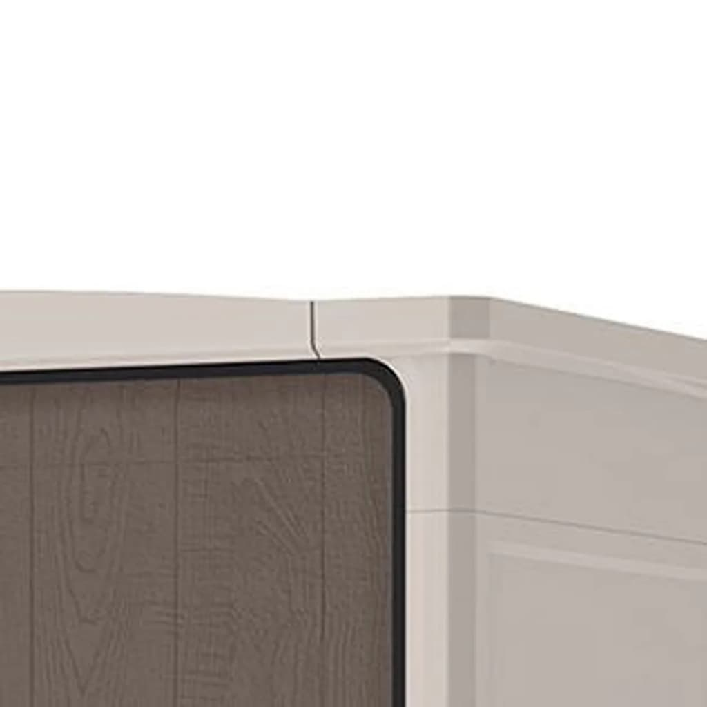 Keter armario de almacenaje optima wonder outdoor tall for Almacenaje de jardin
