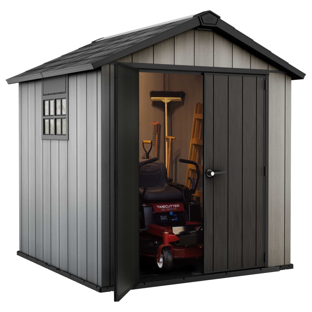 Keter garden shed oakland 757 226432 for Garden shed keter