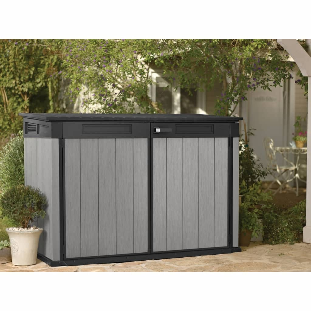 Keter Borneo Outdoor Storage Box Vidaxl Starplast Outdoor