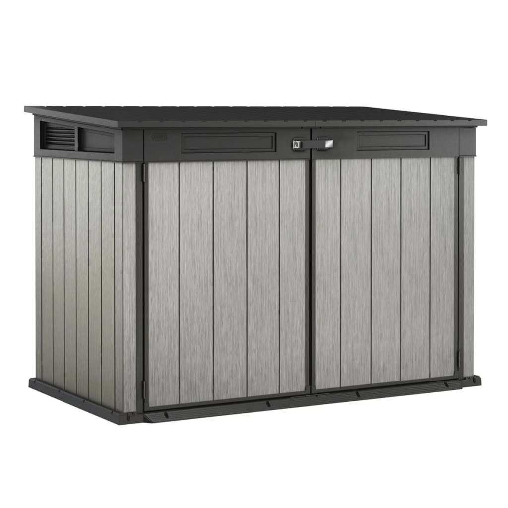 Vidaxl Co Uk Keter Storage Shed Grande Store Grey 17204255