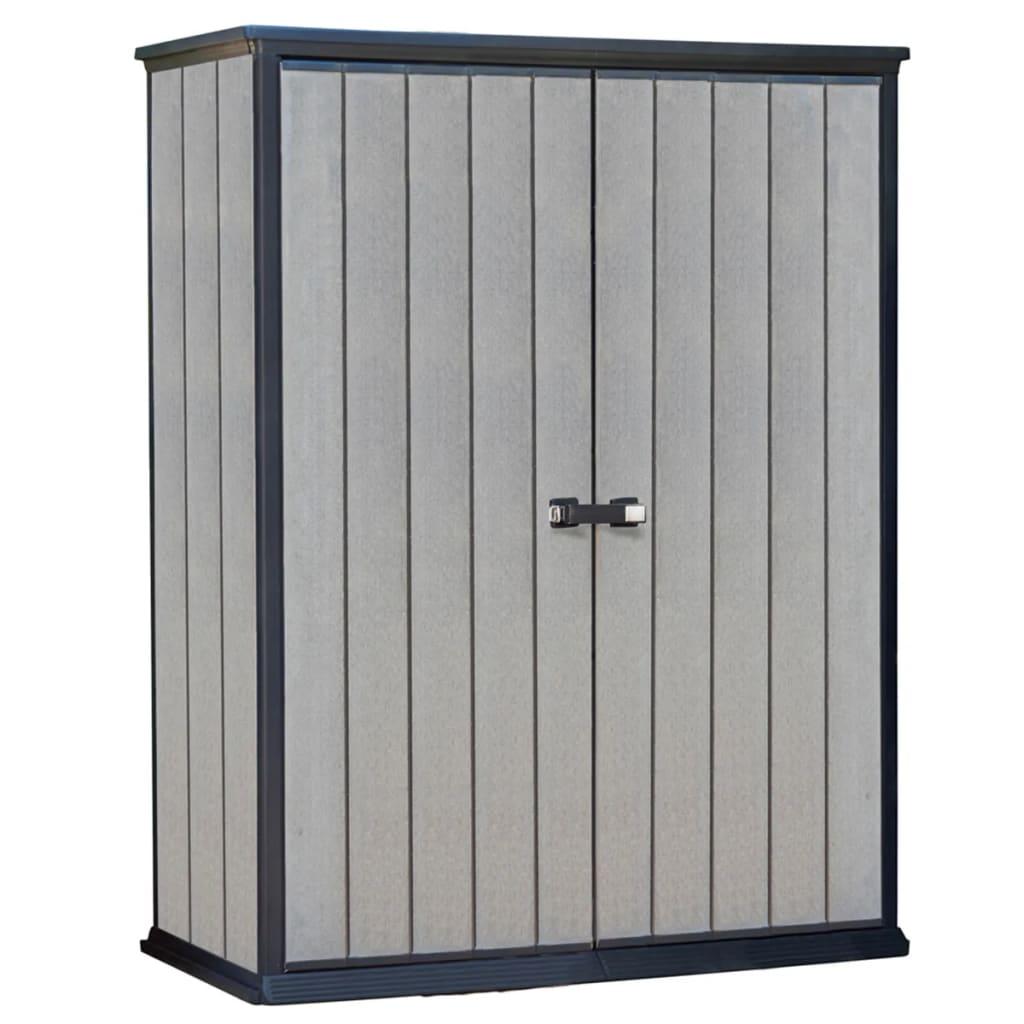 la boutique en ligne keter abri de stockage high store gris 17202203. Black Bedroom Furniture Sets. Home Design Ideas