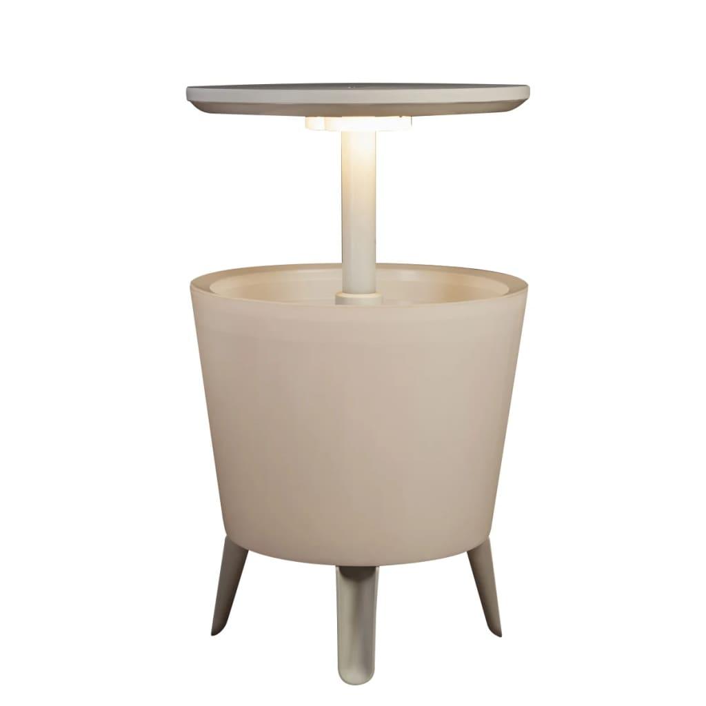 keter illuminated cool bar white 17204184. Black Bedroom Furniture Sets. Home Design Ideas