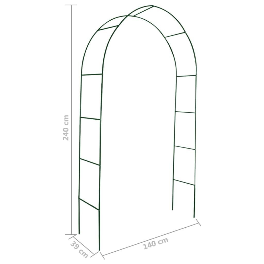 Arco de jardin para plantas trepadoras 2 unidades for Arcos para jardin