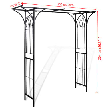 Garden Arch 200cm High[4/4]