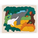 Hape Asian Animals Puzzle E6521