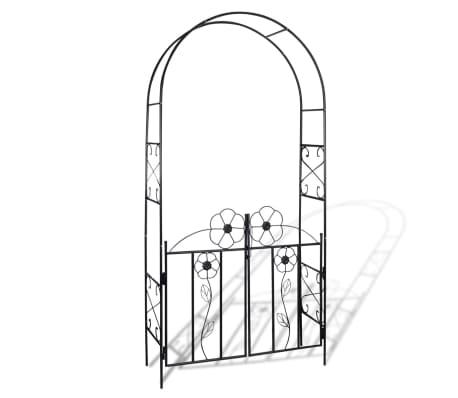 Puerta de arco de jard n tienda online for Arco decorativo jardin