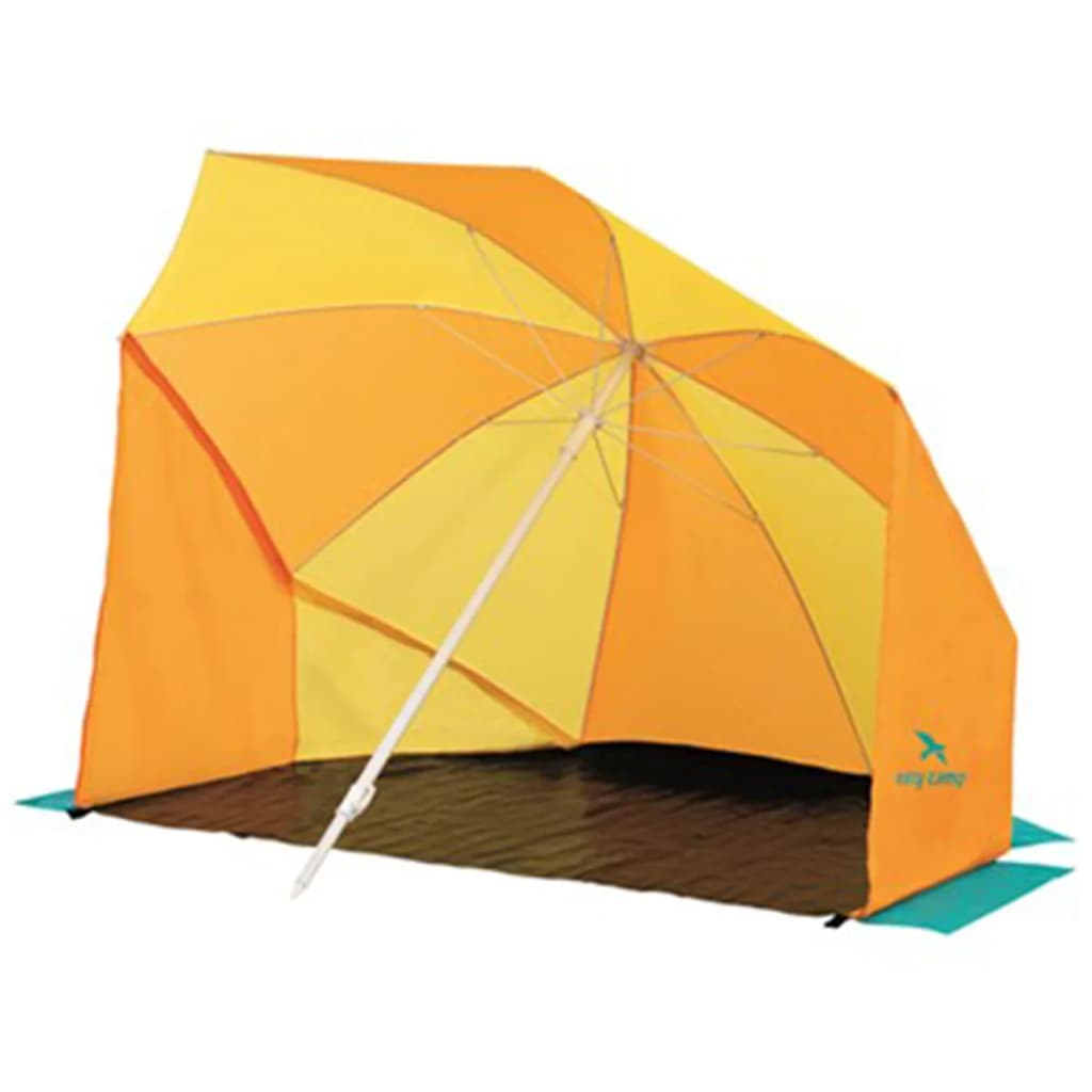 acheter easy camp parasol de plage coast jaune et orange. Black Bedroom Furniture Sets. Home Design Ideas