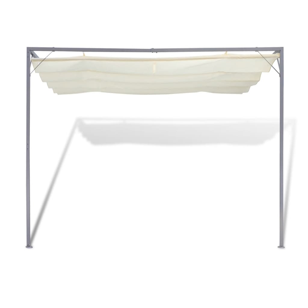 vidaXL Garden Patio Awning Sun Shade Canopy Wall Gazebo ...