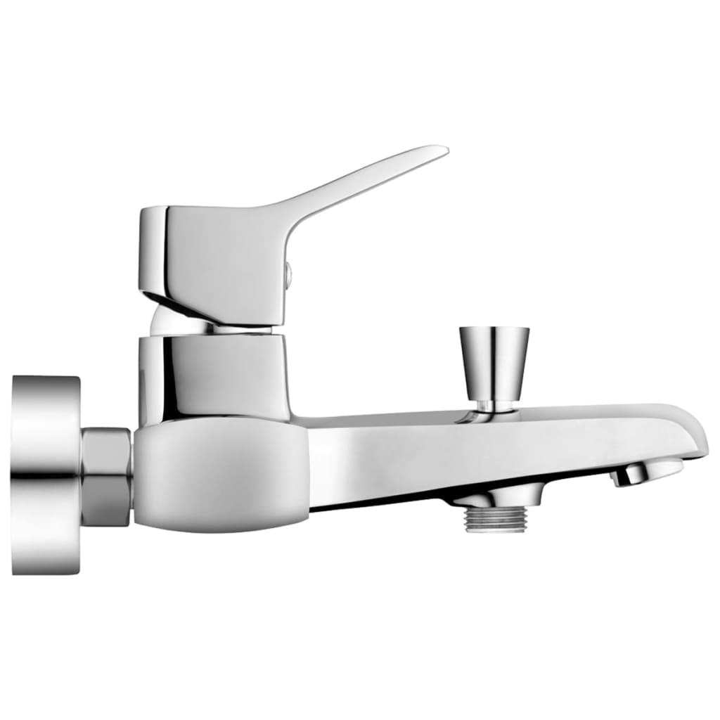 Fala rubinetto a parete per vasca da bagno soria in ottone 75762 - Rubinetto a parete bagno ...