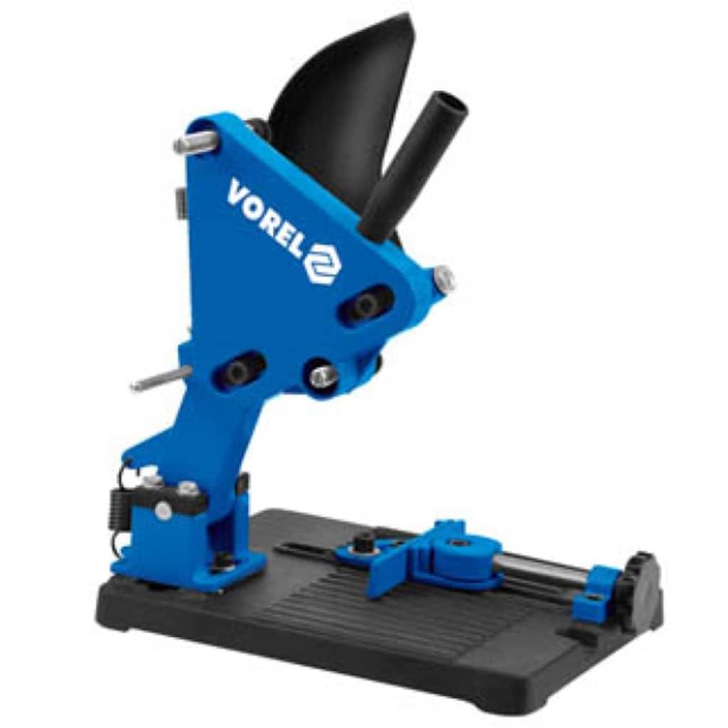 Afbeelding van VOREL Haakse slijperstandaard blauw metaal 79641