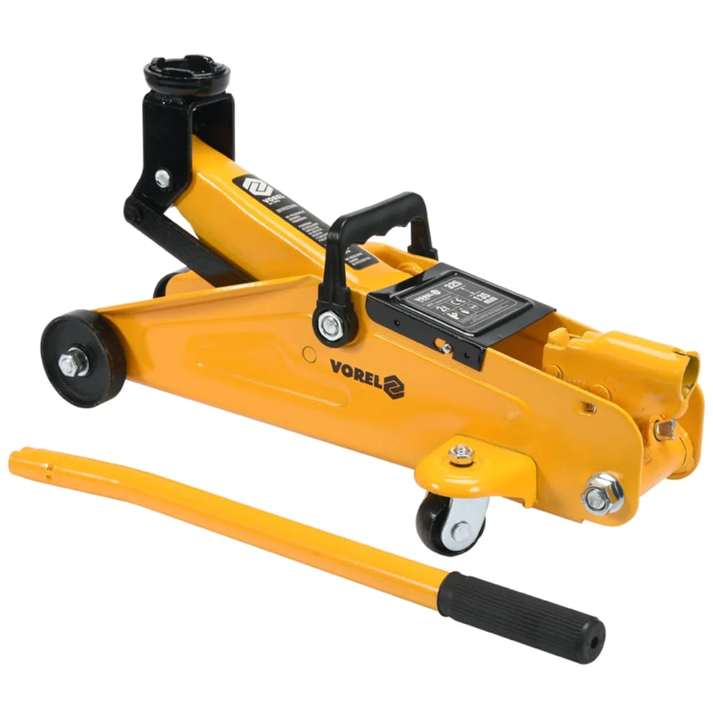 VOREL Hydraulic Floor Jack 2 Tonne 80111 | vidaXL.co.uk