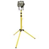 VOREL Lámpara Halógena de Trabajo en Tripode en Color Amarilla 400 W 82786