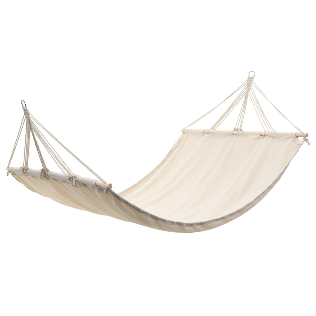 Vidaxl hammock hanging chair swing fabric outdoor garden for Fabric hammock chair swing