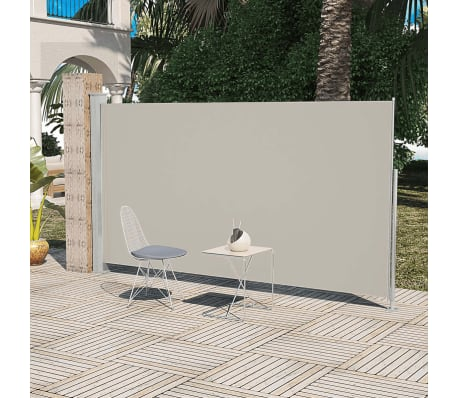 Patio Terrace Side awning 160 x 300 cm Cream Colour [1/1]