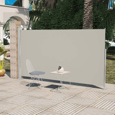 Patio Terrace Side awning 160 x 300 cm Cream Colour[1/6]