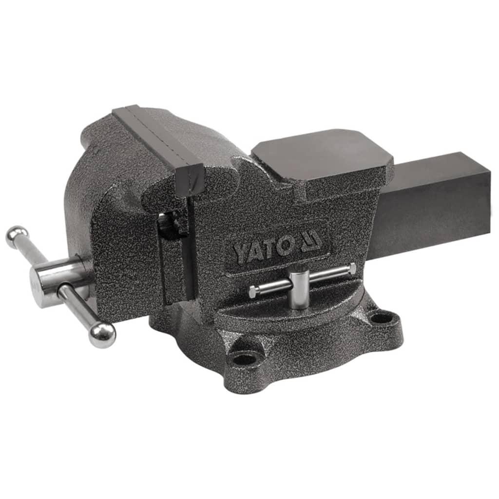 Yato morsa da banco 150 mm in ghisa yt 6503 for Morsa da banco idraulica