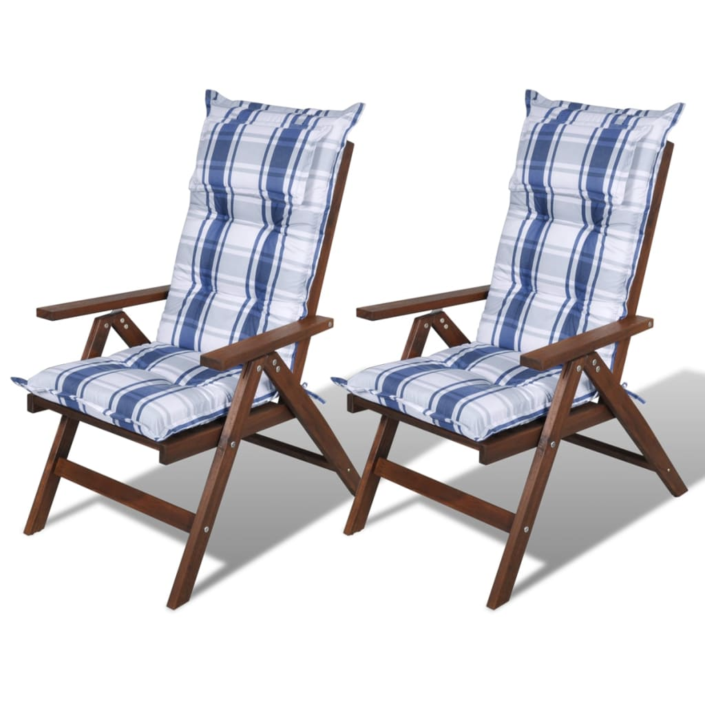 NEW Reversible Replacement Outdoor Patio Chair Cushion