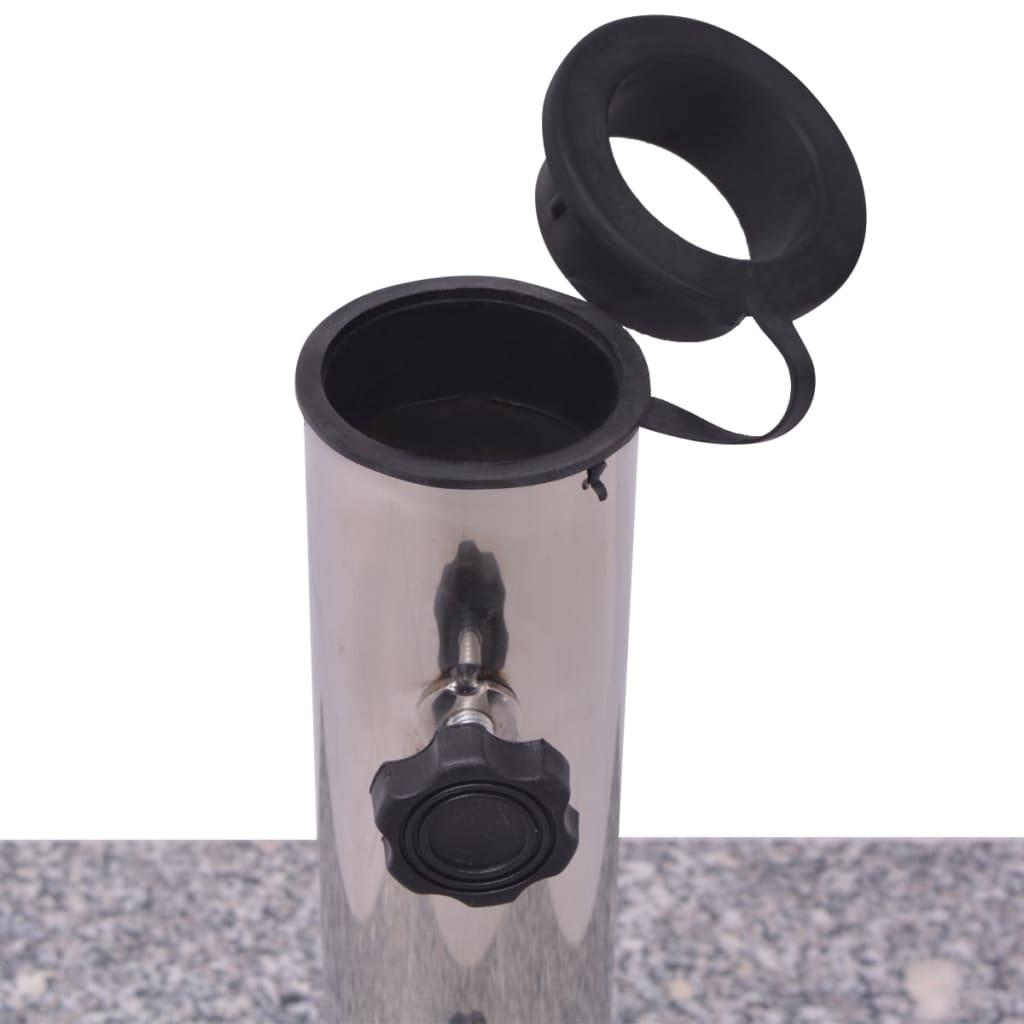 granite parasol base umbrella holder 20kg. Black Bedroom Furniture Sets. Home Design Ideas