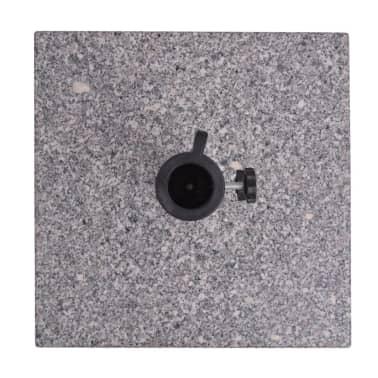 Parasolvoet Graniet 20 kg vierkant[4/4]