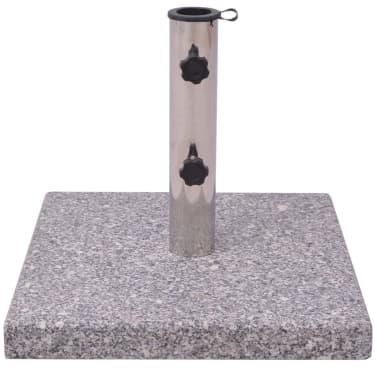 Parasolvoet Graniet 20 kg vierkant[2/4]