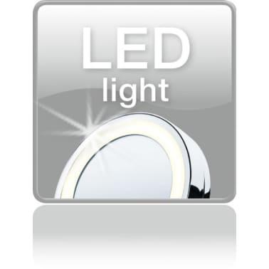 Acheter beurer miroir cosm tique clair bs49 argent 584 for Beurer miroir lumineux bs49