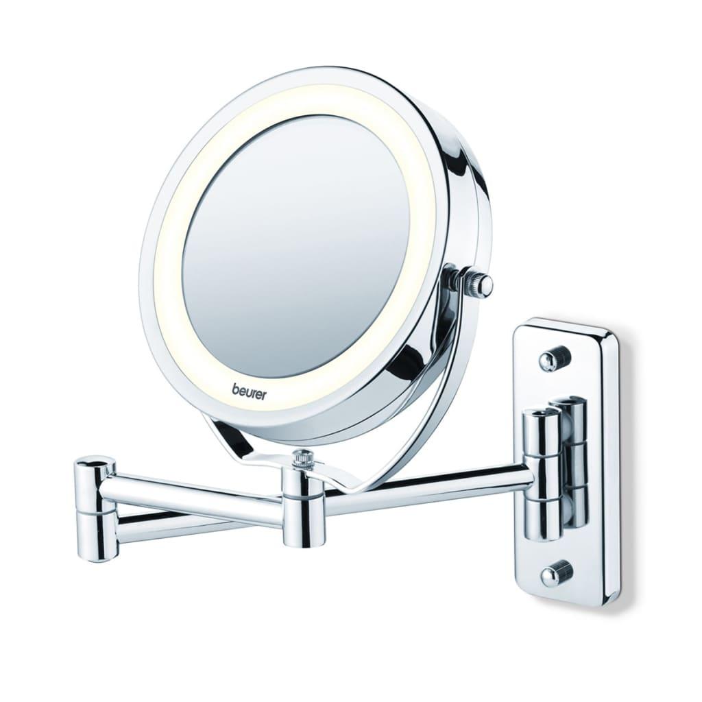 Beurer Ezüstszínű kozmetikai tükör megvilágítással
