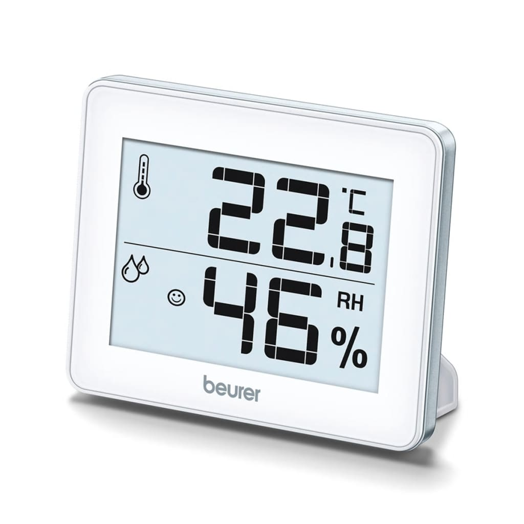 Afbeelding van Beurer Thermohygrometer HM 16 wit 679.15