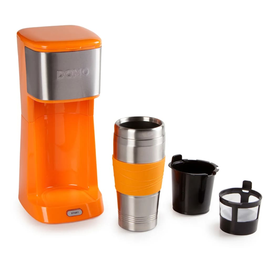 La boutique en ligne domo cafeti re 2 en 1 do439k 650 w orange - Solde machine a cafe ...
