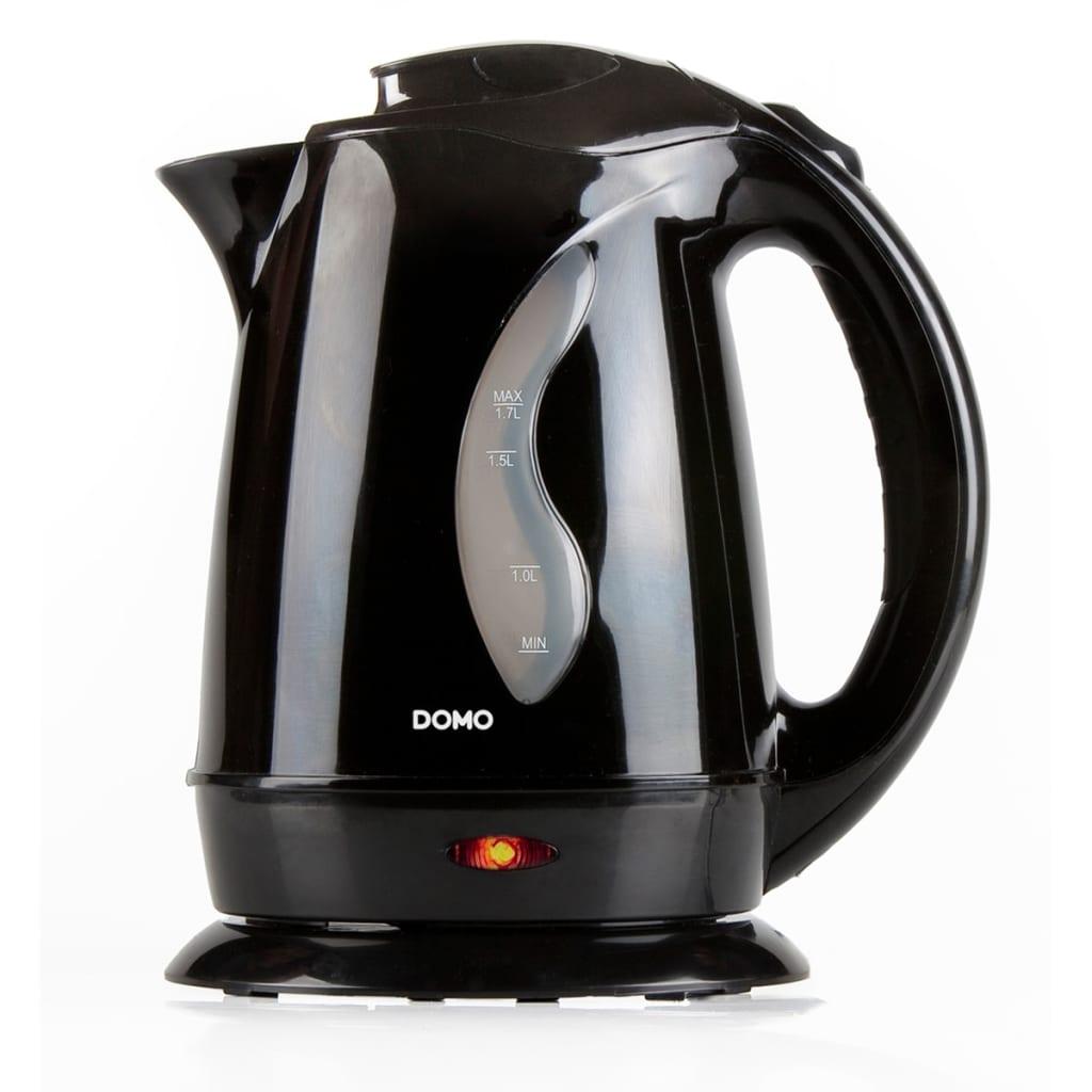 Acheter domo bouilloire lectrique do9019wk 2200 w 1 7 l noir pas cher - Bouilloire pas cher amazon ...