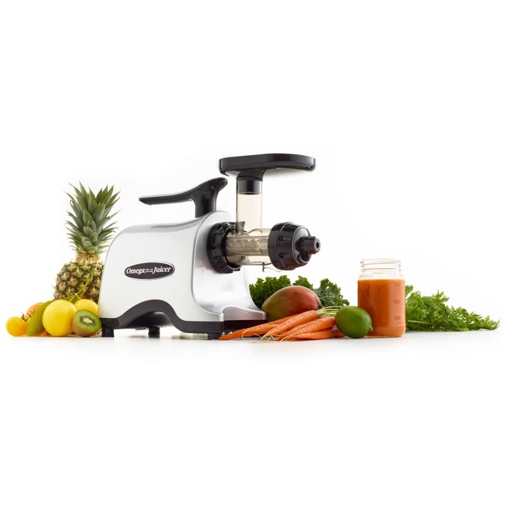 Slow Juicer Twin Gear : Omega Slow juicer Twin-Gear 150 W 160 rpm TWN32SF online kopen vidaXL.nl