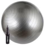 Avento pelota de ejercicio 65 cm plateado