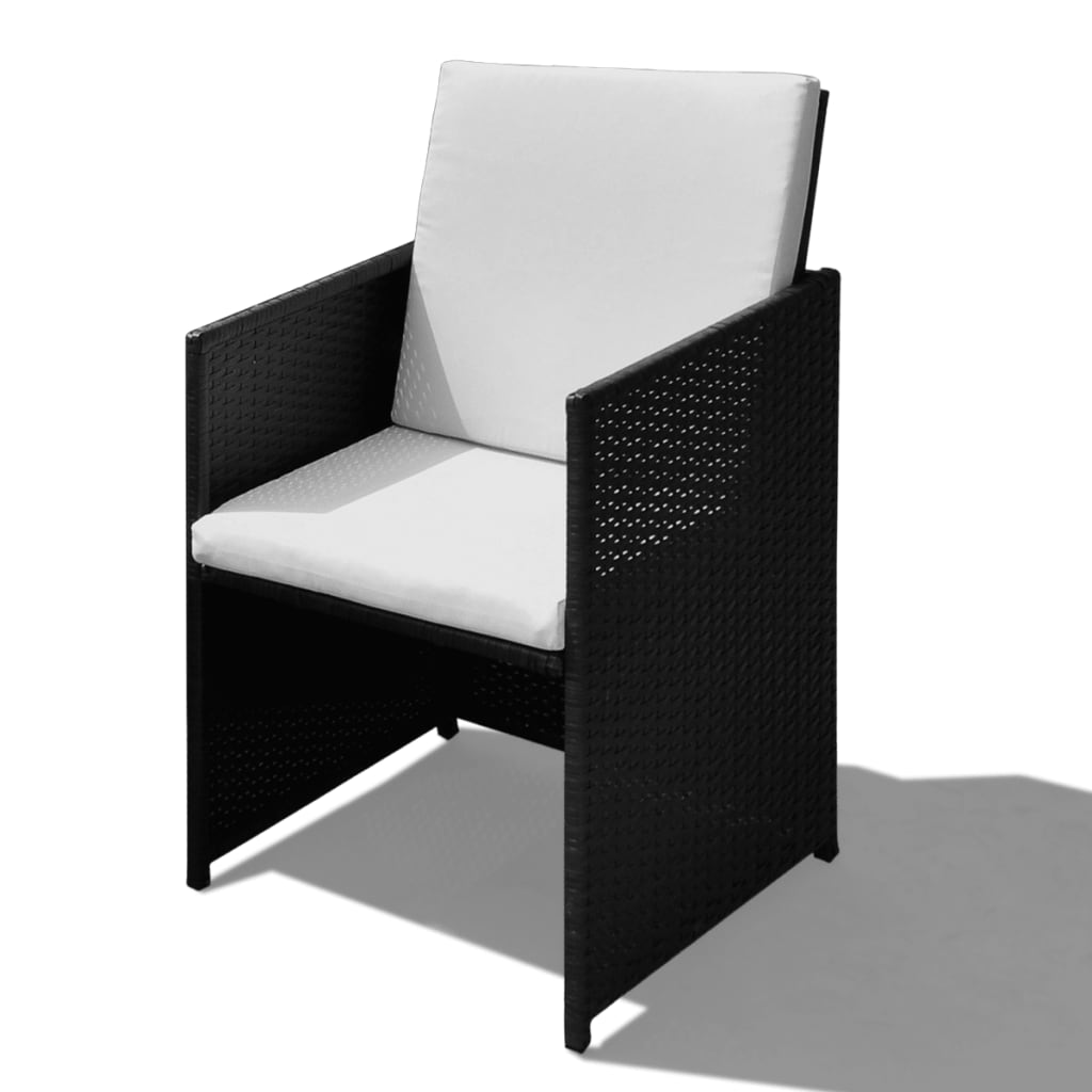 poly rattan gartenm bel essgruppe 1 tisch 8 st hle 4 hocker g nstig kaufen. Black Bedroom Furniture Sets. Home Design Ideas