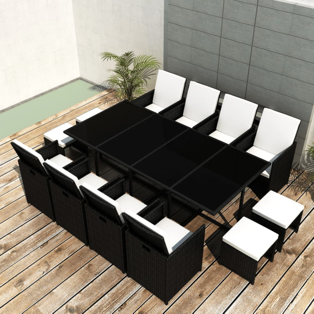 vidaxl-black-poly-rattan-dinning-set-table-8-chiars-4-stools