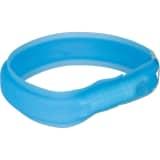 TRIXIE USB-lyshalsbånd M-L 50 cm blå 12671