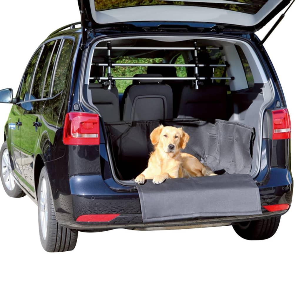 trixie tapis de coffre auto pour chiens 164 x 125 cm noir. Black Bedroom Furniture Sets. Home Design Ideas