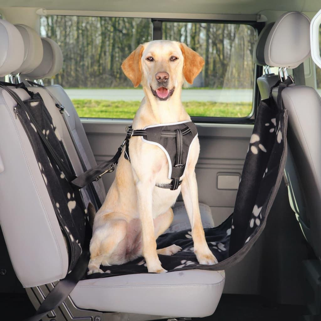 trixie housse de si ge auto pour chiens 65 x 145 cm noir et beige. Black Bedroom Furniture Sets. Home Design Ideas
