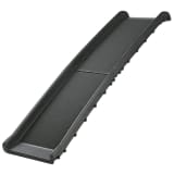 TRIXIE Rampa de mascotas 40x156 cm 90 kg Negro 3939