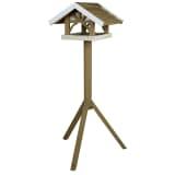 TRIXIE Mangiatoia Fissa per Uccelli Natura 45x28x44 cm Marrone 55802