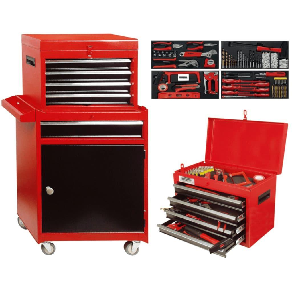 Br der mannesmann caja mueble de herramientas 138 piezas - Mueble para herramientas ...