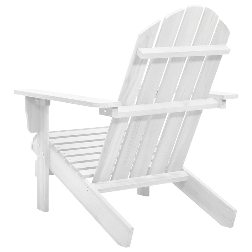 Silla de sal n de jard n madera blanca tienda online for Sillas salon madera