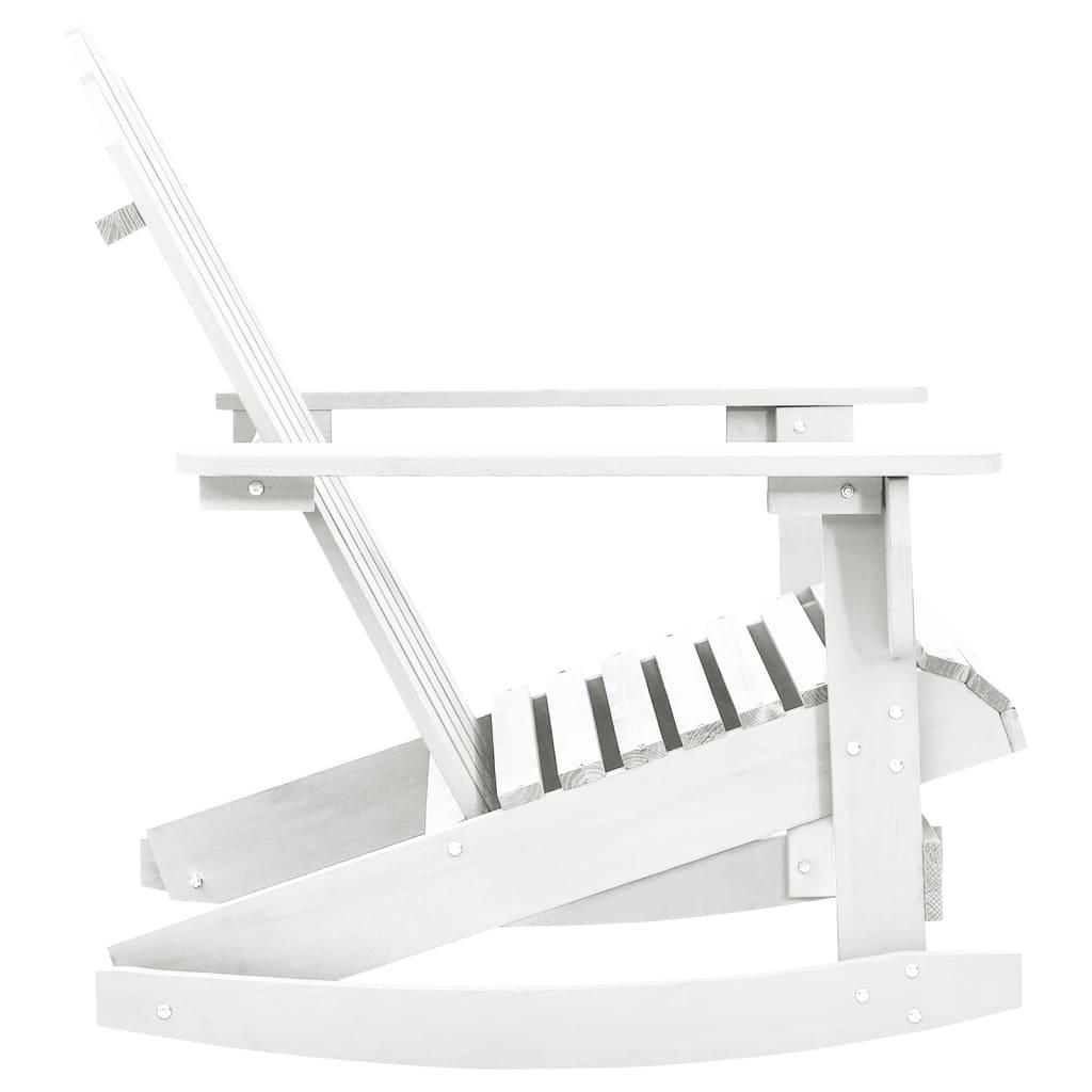 Mecedora de madera blanca tienda online - Mecedora madera blanca ...