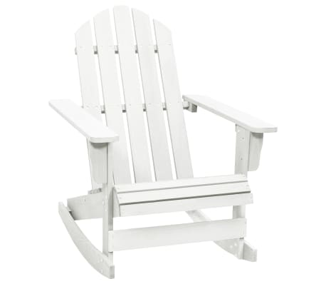 wood rocking chair white. Black Bedroom Furniture Sets. Home Design Ideas