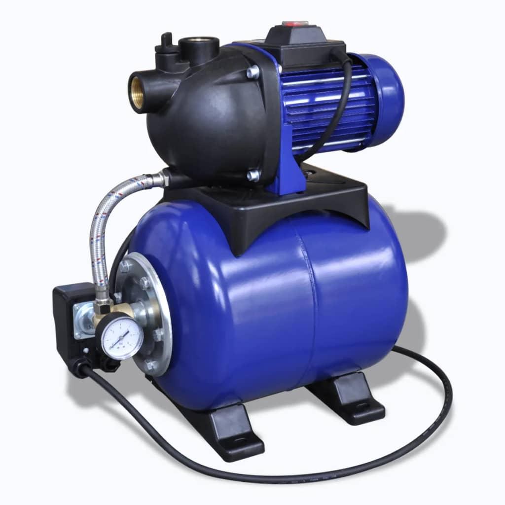 Afbeelding van vidaXL Elektrische tuinpomp 1200W blauw